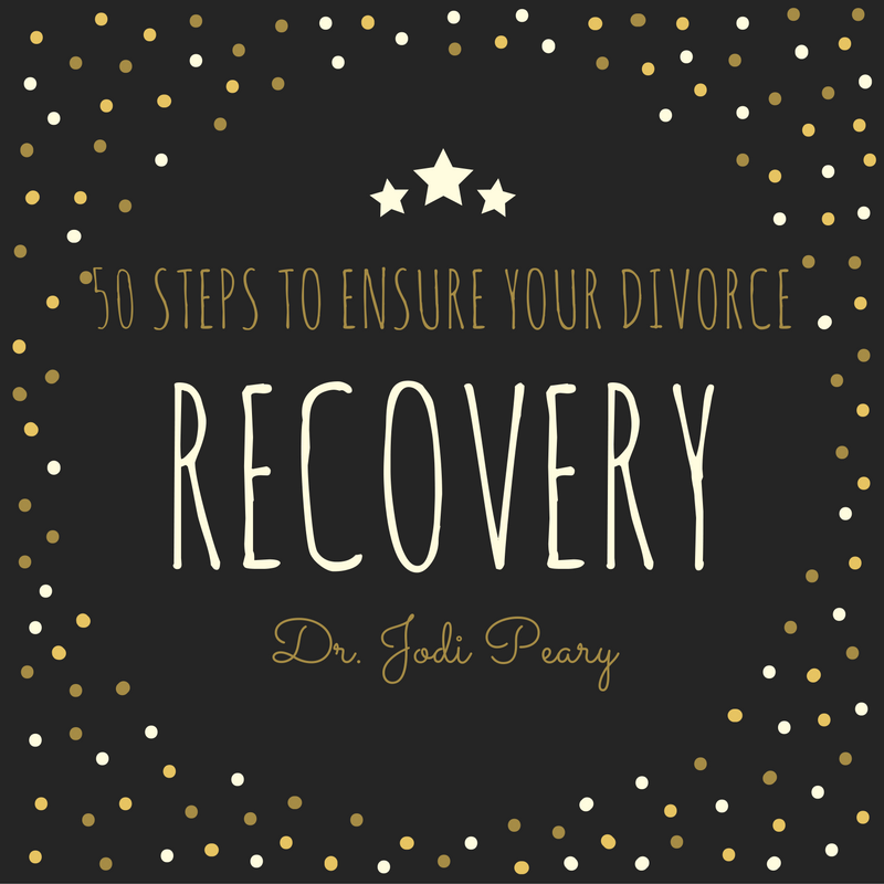 50 steps to ensure your divorce recovery