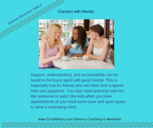 Friendship in divorce recovery
