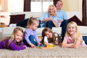 Parenting services for blended families